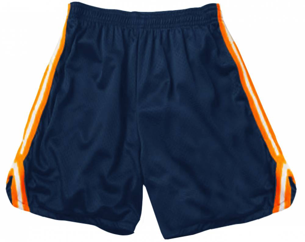 Adult Polyester Tricot Mesh Shorts